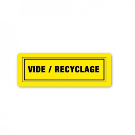 VIDE / RECYCLAGE