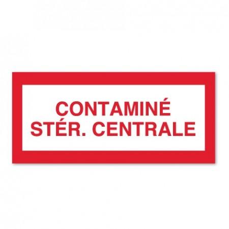 CONTAMINÉ - STÉR. CENTRALE