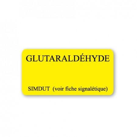 GLUTARALDÉHYDE - SIMDUT