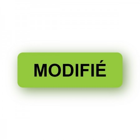MODIFIÉ