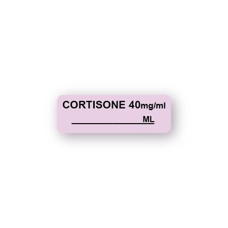 CORTISONE 40 mg/ml