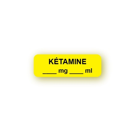 KÉTAMINE mg/ml