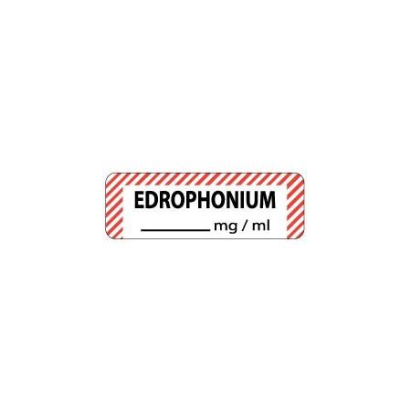 Edrophonium mg/ml