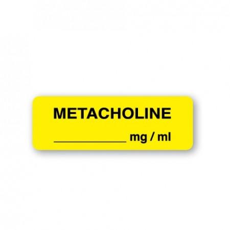 METACHOLINE __________mg / ml