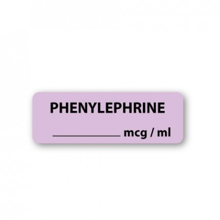 PHENYLEPHRINE mcg/ml