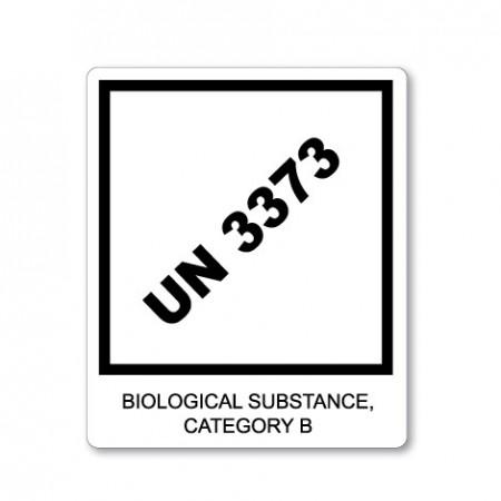 UN 3373 - BIOLOGICAL SUBSTANCE CATEGORY B