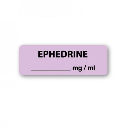 EPHEDRINE mg/ml