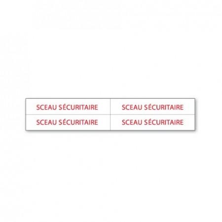 SCEAU SÉCURITAIRE