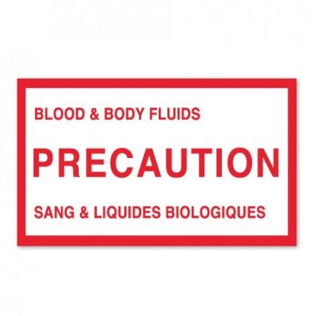 BLOOD & BODY FLUIDS - PRECAUTION - SANG & LIQUIDES BIOLOGIQUES
