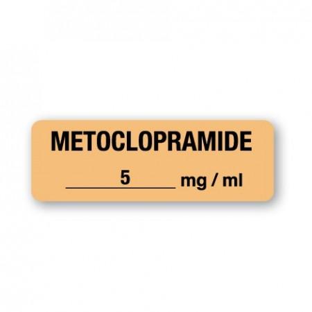 METOCLOPRAMIDE 5 mg/ml