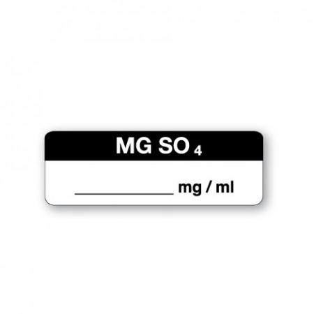 MG SO4