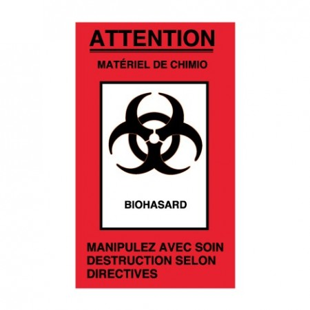 ATTENTION - MATÉRIEL DE CHIMIO