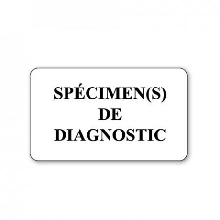SPÉCIMEN(S) DE DIAGNOSTIC