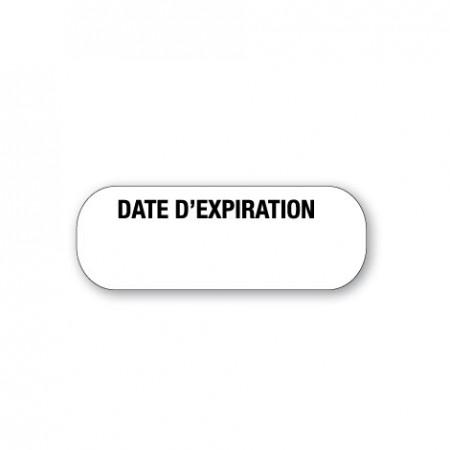 DATE D'EXPIRATION