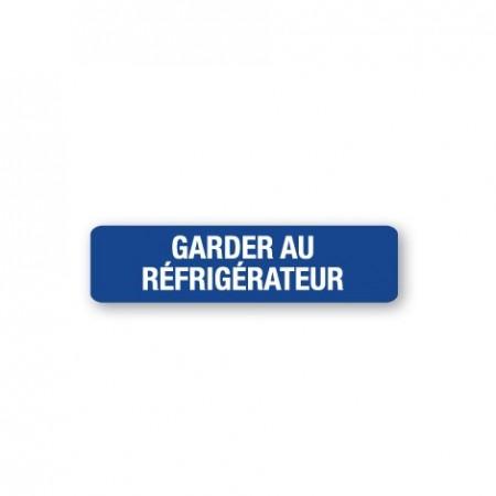 GARDER AU RÉFRIGÉRATEUR