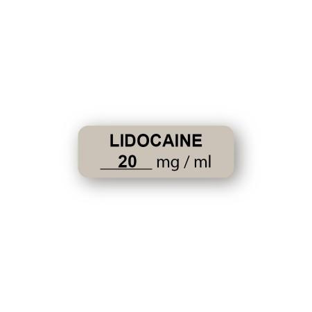 LIDOCAÏNE 20 mg/ml