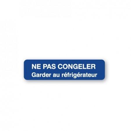 NE PAS CONGELER