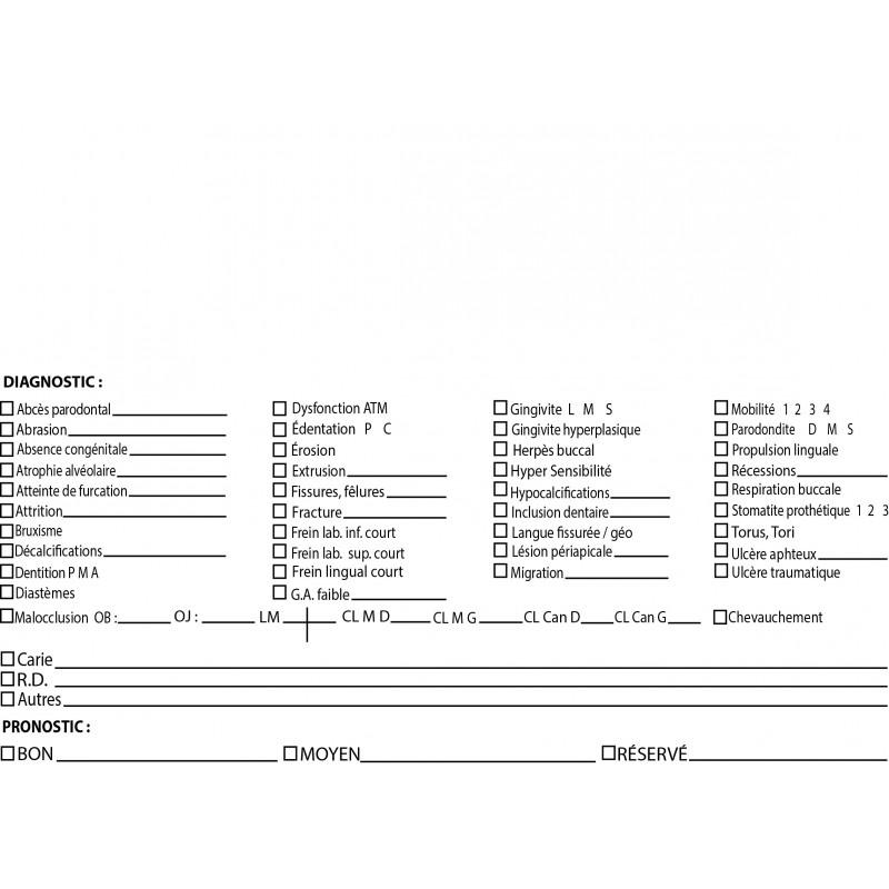 DIAGNOSTIC / PRONOSTIC (DENTAIRE)