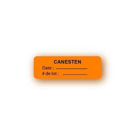 CANESTEN - DATE / NUMÉRO DE LOT