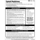 OPIODS INFORMATION HANDOUT -- HEALTH CANADA