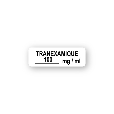 TRANEXAMIQUE 100 mg/ml