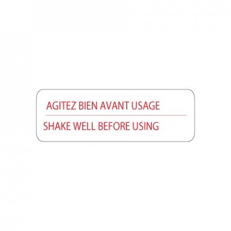 AGITEZ BIEN AVANT USAGE - SHAKE WELL BEFORE USING