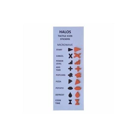 HALOS -- PAVÉS TACTILES POUR ÉLECTROMÉNAGERS