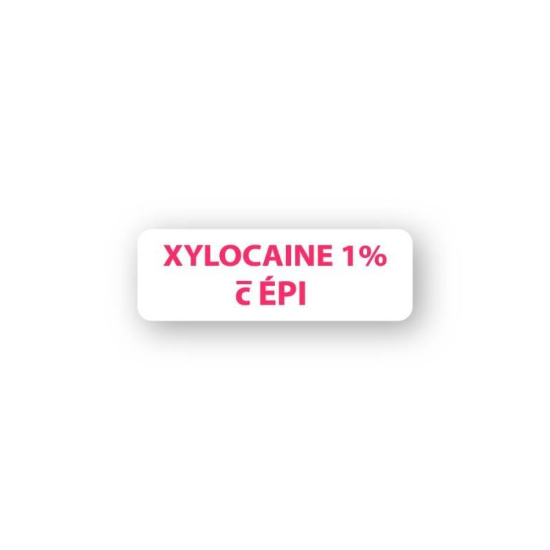 XYLOCAINE č  ÉPINÉPHRINE