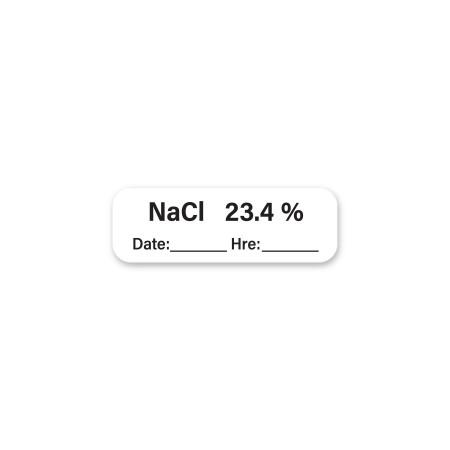 NaCl 23.4 % Date __ Hre __