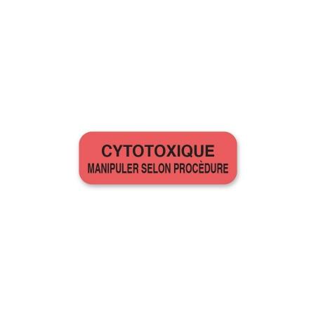 CYTOTOXIQUE - MANIPULER SELON PROCÉDURE