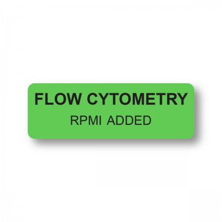 FLOW CYTOMETRY RPMI ADDED