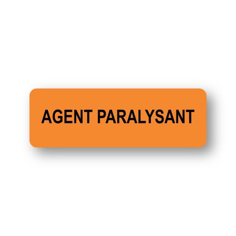 AGENT PARALYSANT