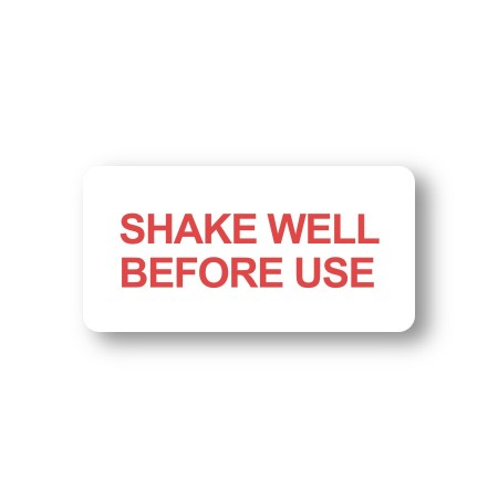 SHAKE WELL BEFORE USE