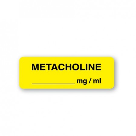 METACHOLINE __________mg / ml